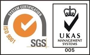 Certification SGS UKAS