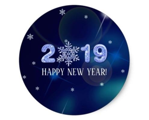 Happy New Year 2019! 2