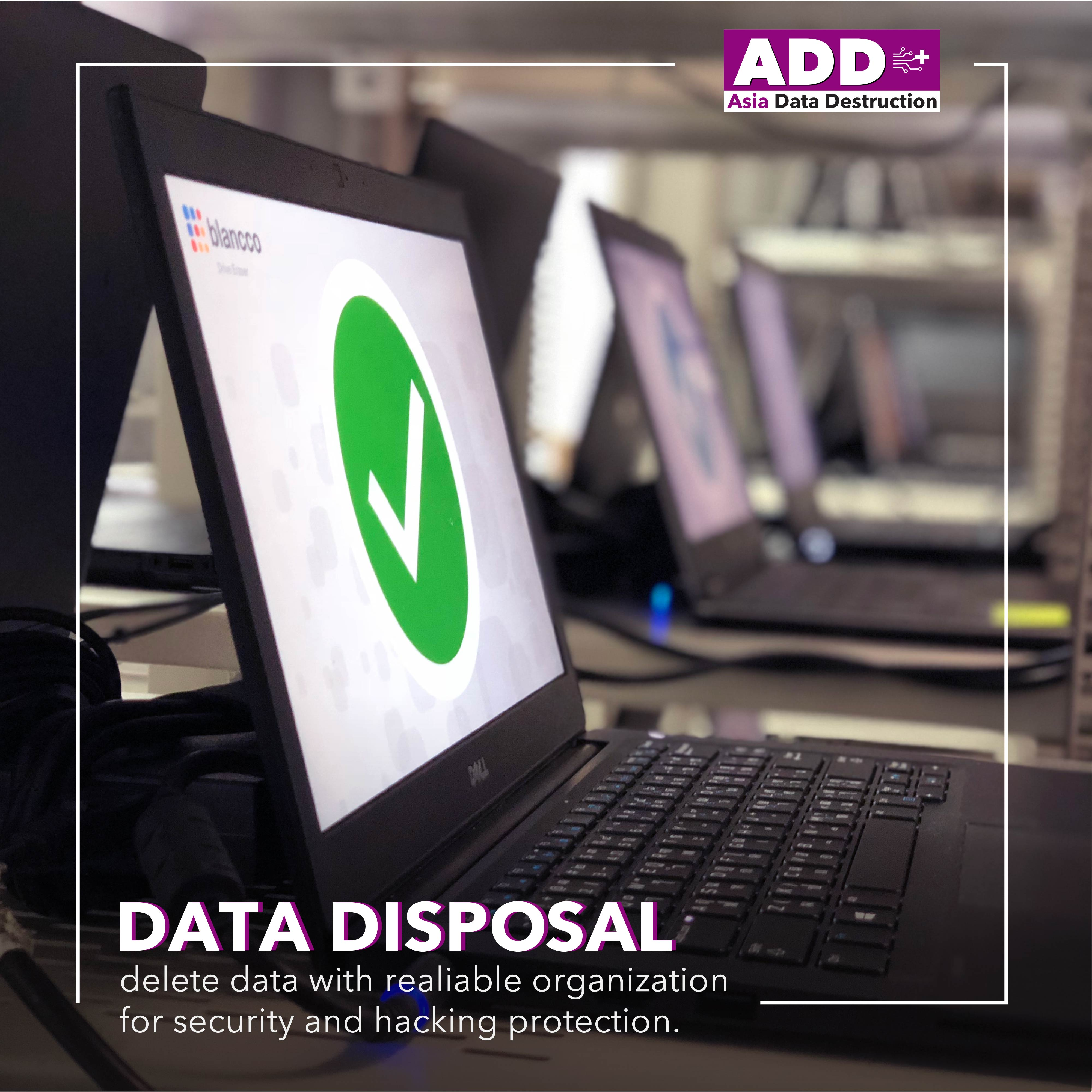 COVID-19: Closing company, how to deal with obsoleted computer? IT Asset Disposal is your solution. Bangkok and Worldwide service. 10