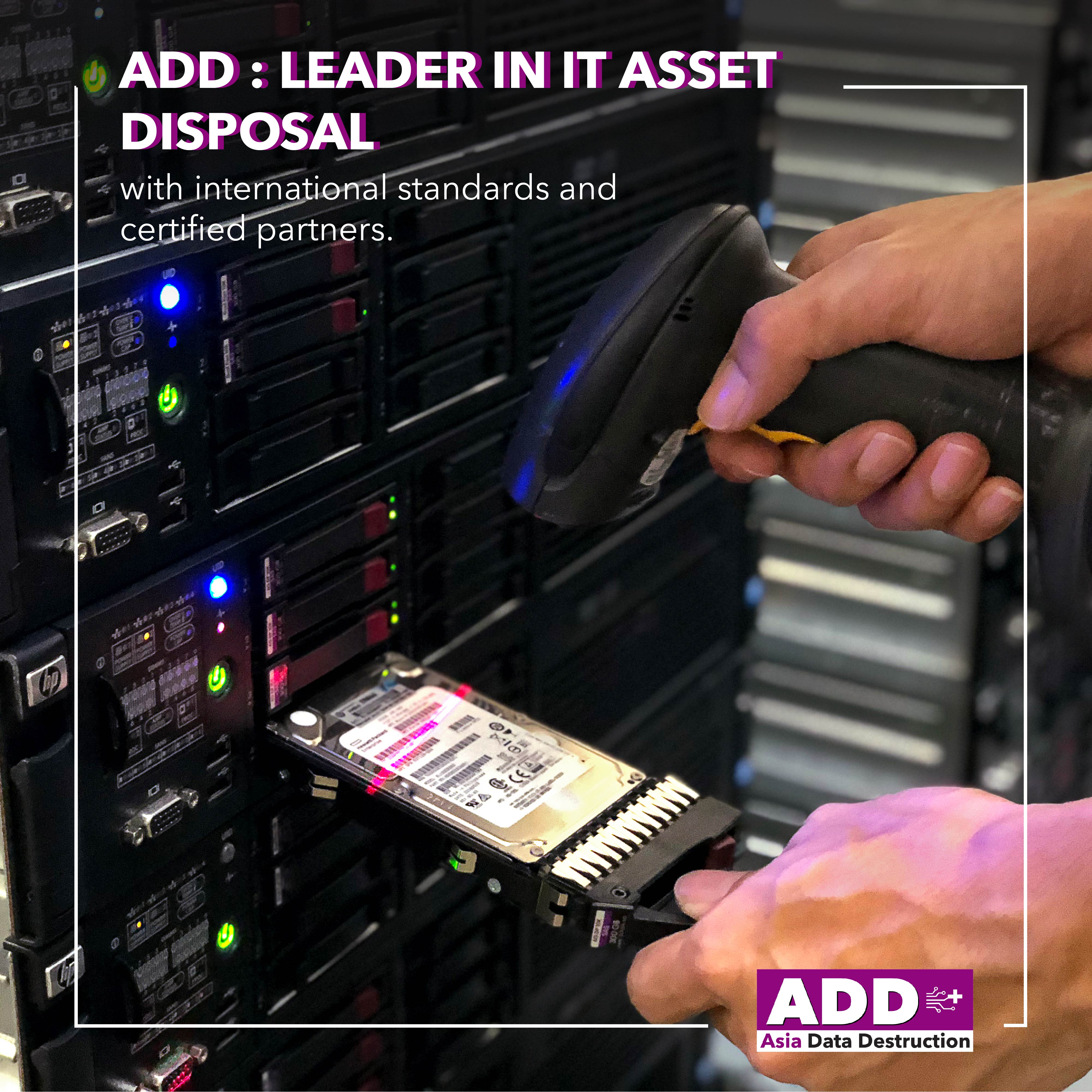COVID-19: Closing company, how to deal with obsoleted computer? IT Asset Disposal is your solution. Bangkok and Worldwide service. 11