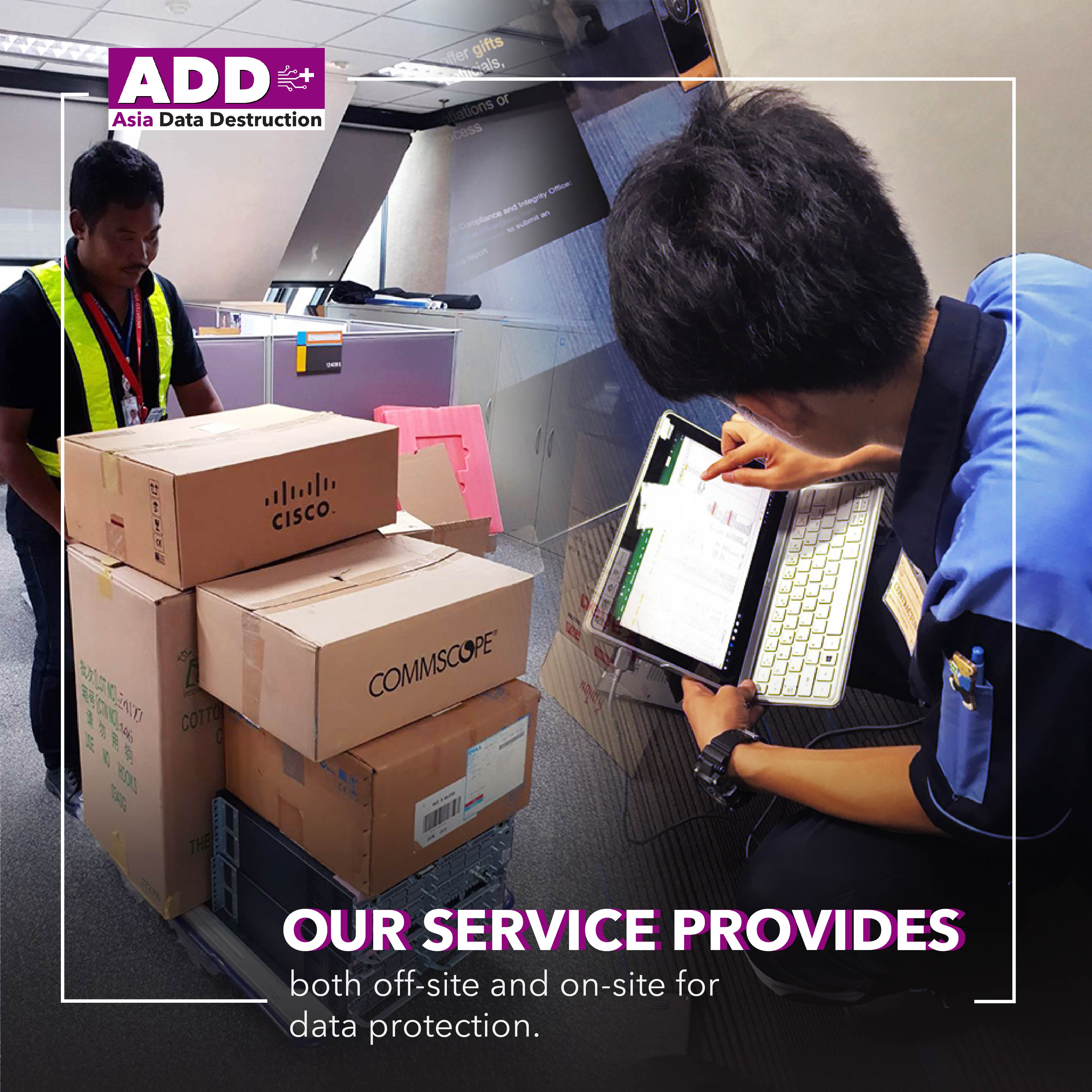 COVID-19: Closing company, how to deal with obsoleted computer? IT Asset Disposal is your solution. Bangkok and Worldwide service. 12