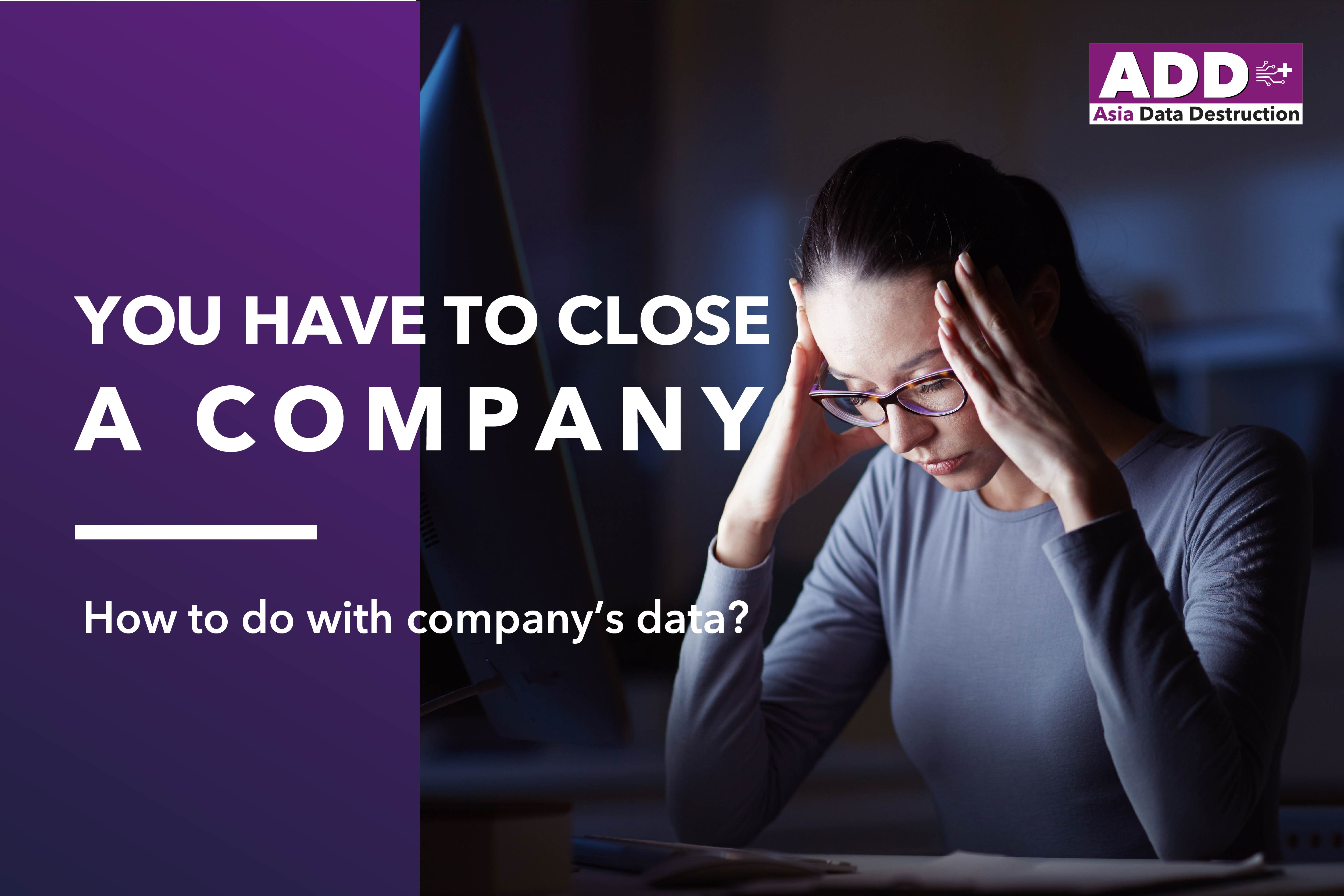 COVID-19: Closing company, how to deal with obsoleted computer? IT Asset Disposal is your solution. Bangkok and Worldwide service. 9