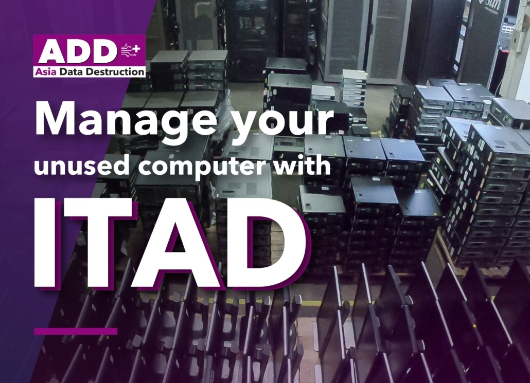 What is 'ITAD' or IT Asset Disposal? What is the best solution for unused computers and how to maximize benefits from them? 9