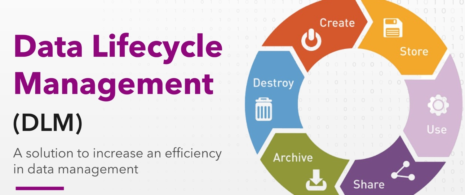 Data lifecycle management (DLM) - a solution to increase an efficiency in data management according to the Person Data Protection Act (PDPA) 2