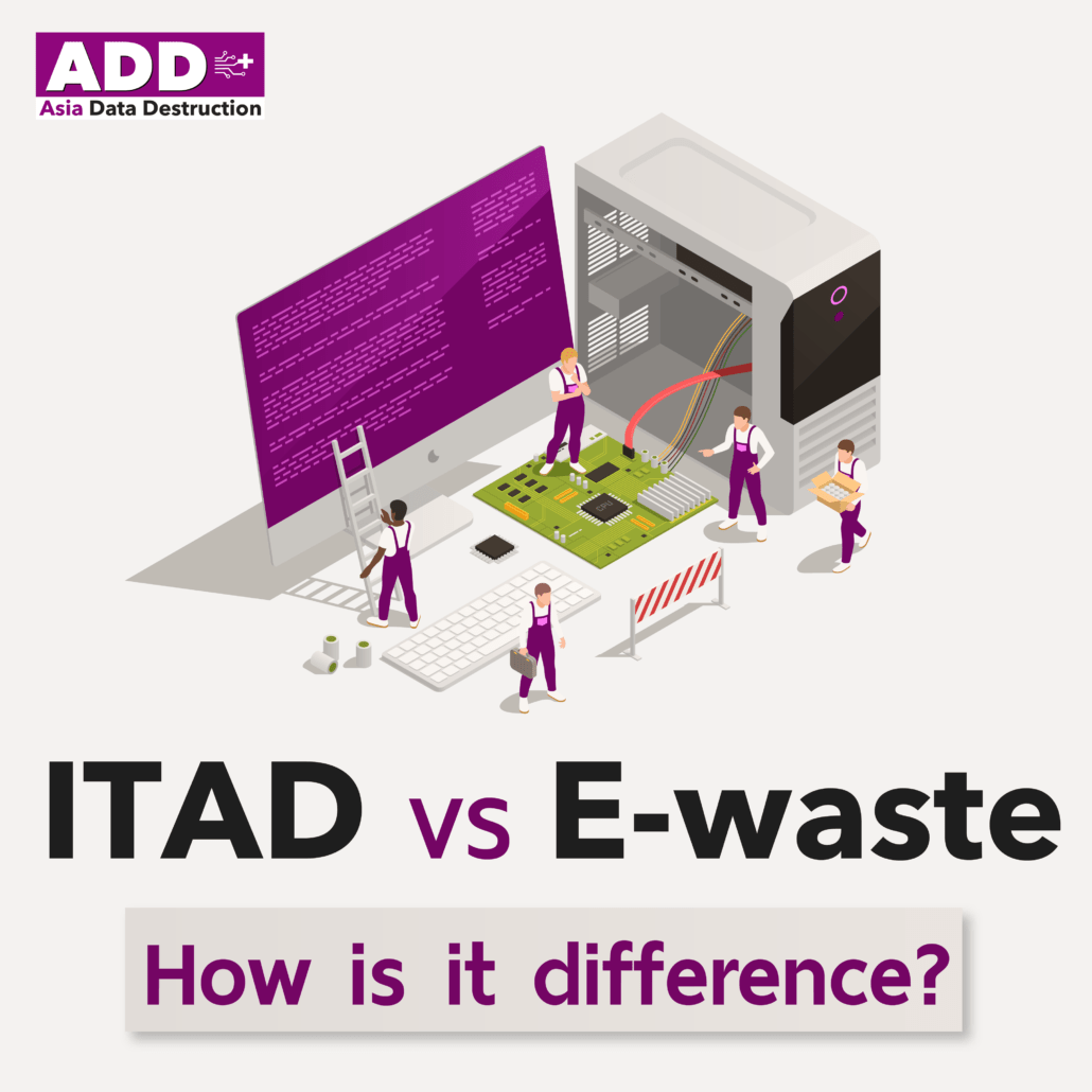 What are the differences between ITAD (IT Asset Disposal) and E-waste? 7